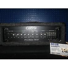 Carvin 1990 Pro Bass 500 Bass Amp Head