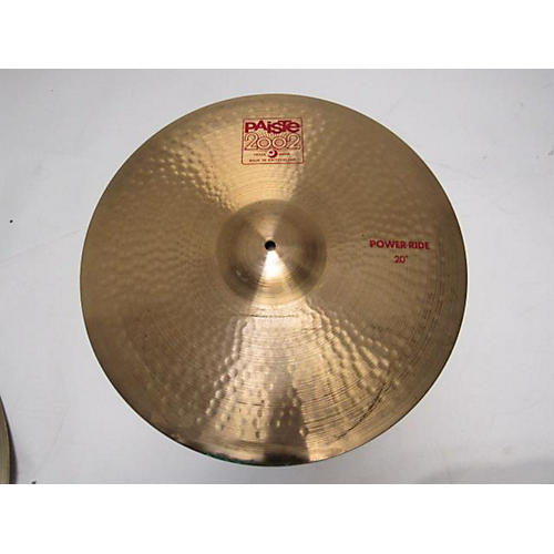 Paiste 1990s 20in 2002 Power Ride Cymbal