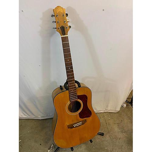 Guild 1990s D4-E-NT HR Acoustic Electric Guitar