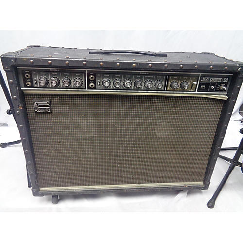 Roland 1991 JC120 Jazz Chorus 2x12 Guitar Combo Amp