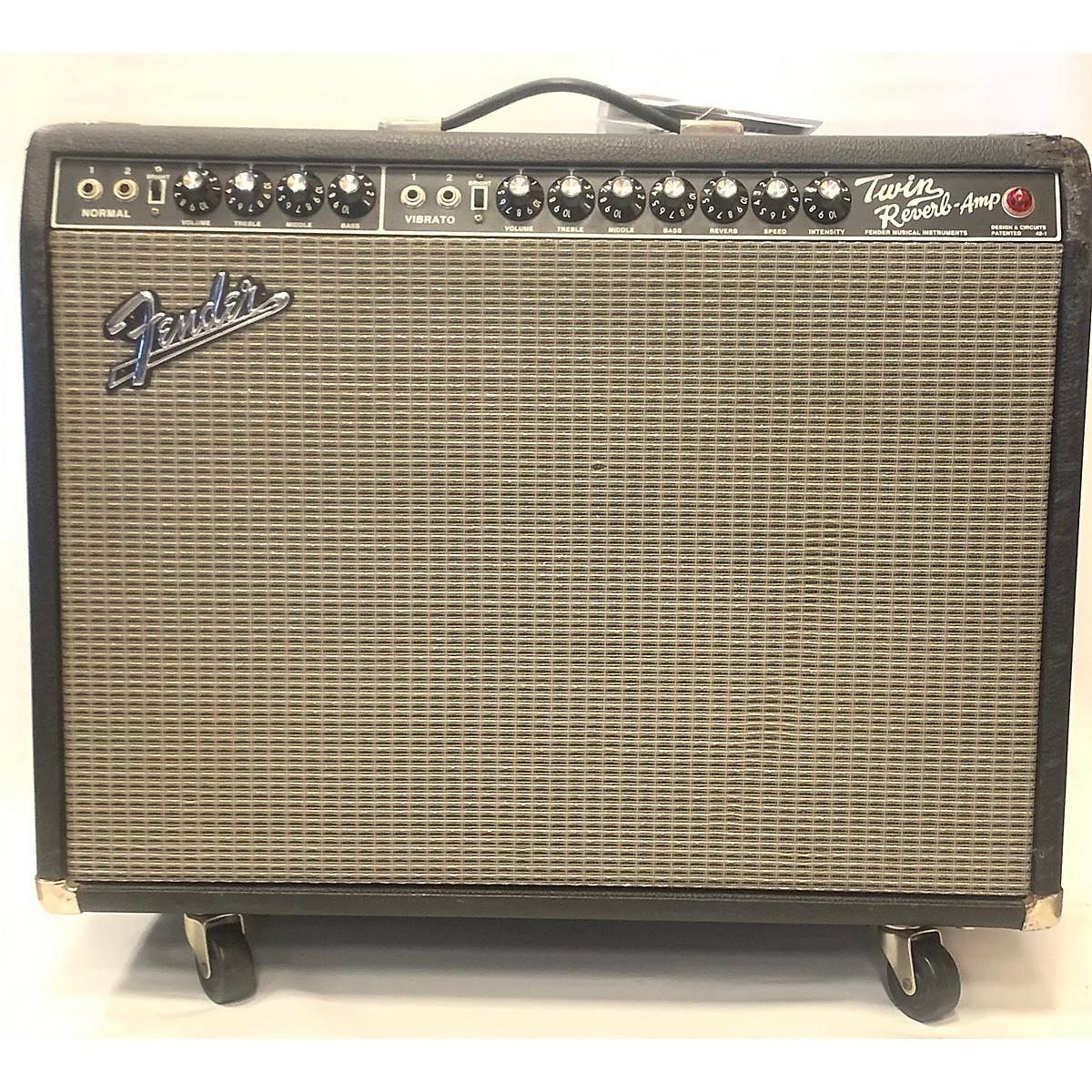 Fender 1991 Vintage Reissue 1965 Twin Reverb Tube Guitar Combo Amp