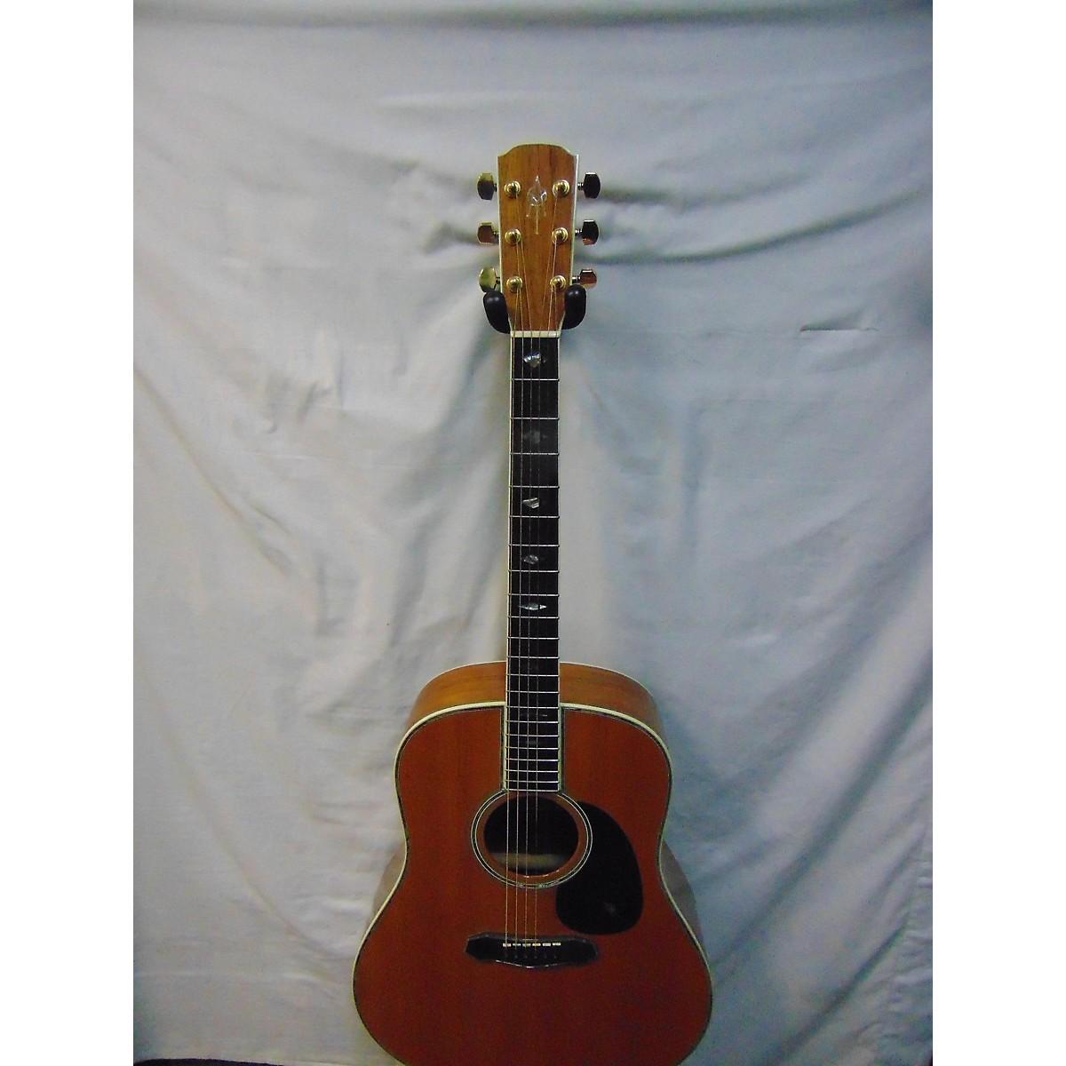 Alvarez 1992 DY91 OHSC Acoustic Electric Guitar