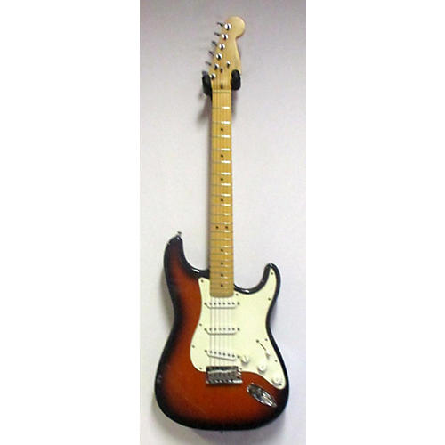 used fender 1995 american standard stratocaster solid body electric guitar sunburst guitar center. Black Bedroom Furniture Sets. Home Design Ideas
