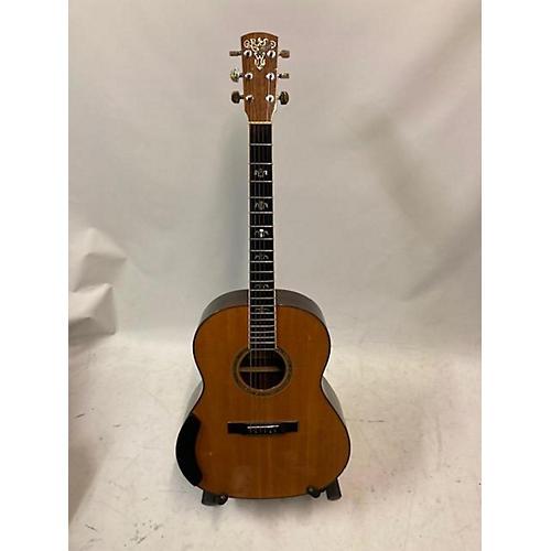 Larrivee 1995 L-19 7 FLOWER ROSEWOOD/SPRUCE Acoustic Electric Guitar