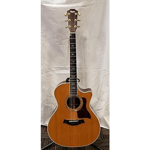 used taylor 1996 814ce acoustic electric guitar natural guitar center. Black Bedroom Furniture Sets. Home Design Ideas