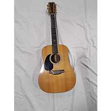 Martin 1996 HD28 Left Handed 12 String 12 String Acoustic Guitar