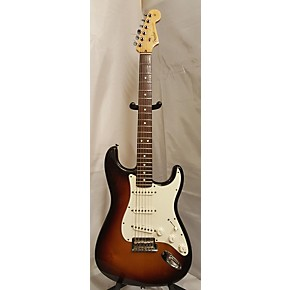 used fender 1997 american standard stratocaster solid body electric guitar tobacco sunburst. Black Bedroom Furniture Sets. Home Design Ideas