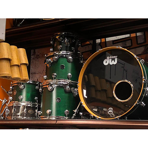 DW 1998 Collectors Series 9ply Hard Rock N.A. Maple Drum Kit