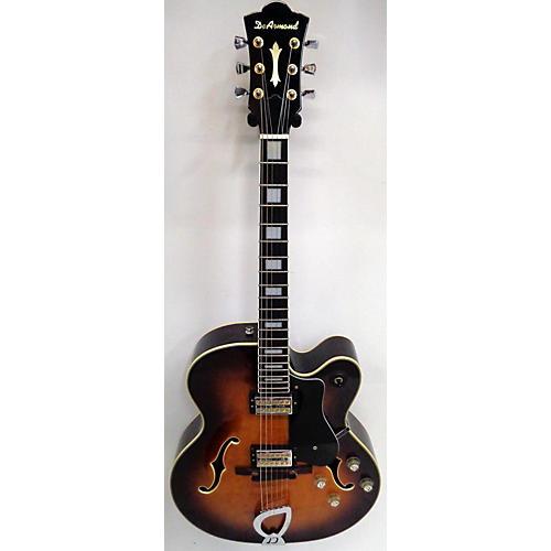 DeArmond 1998 X155 Hollow Body Electric Guitar