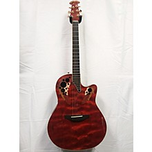Acoustic Electric Guitars Ovation Collectors Series 2000 Electric Acoustic Guitar Used With Hard Case Fixing Prices According To Quality Of Products Musical Instruments & Gear