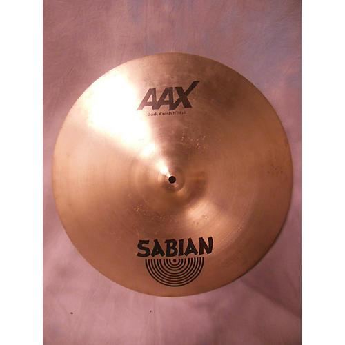 Sabian 19in AAX Series Dark Crash Cymbal
