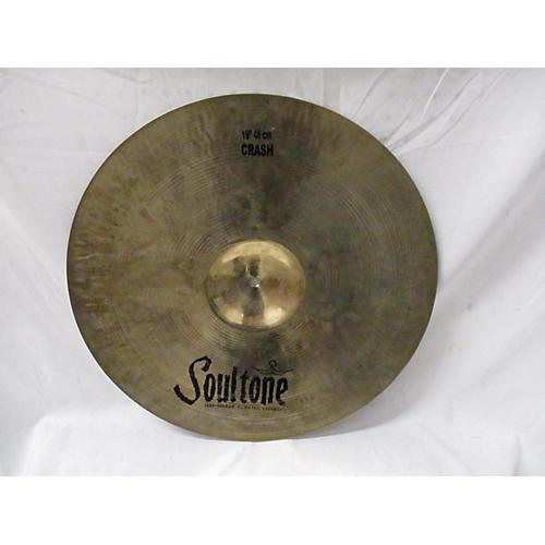 Soultone 19in CUSTOM BRILLIANT CRASH Cymbal