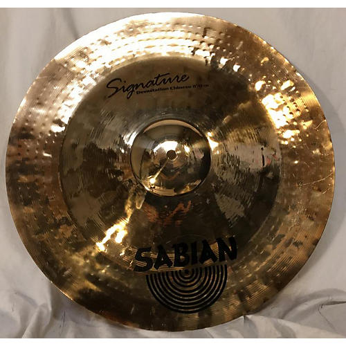 Sabian 19in Signature Devastation Chinese Cymbal