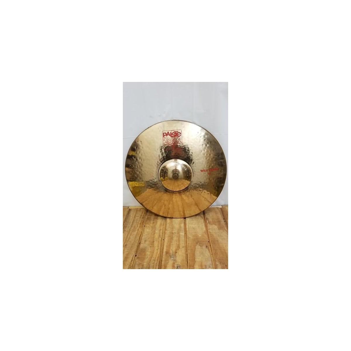 Paiste 19in Wild Crash Cymbal
