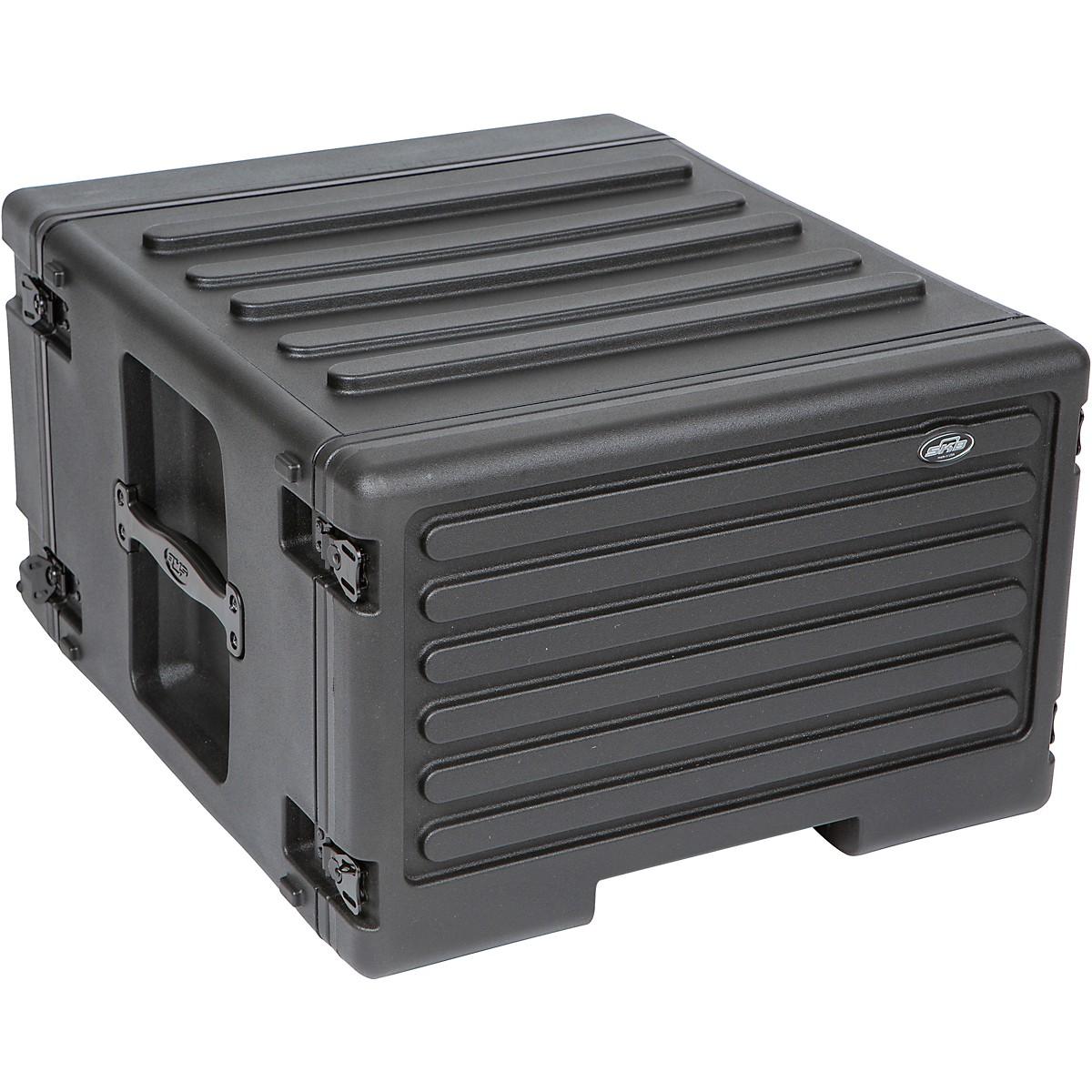 SKB 1SKB-R6UW 6U Rolling Roto Rack Case