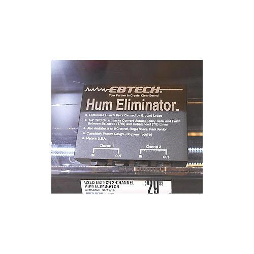 Ebtech 2-Channel Hum Eliminator Effect Pedal