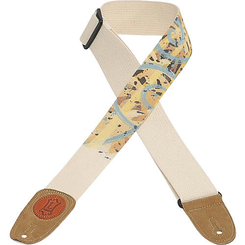 Levy's 2 In Guitar Strap Cotton