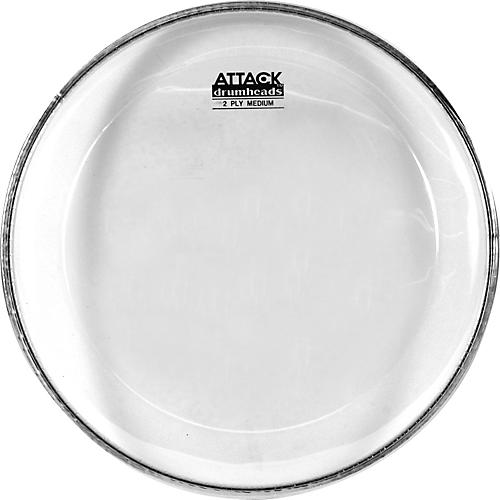 attack 2 ply medium clear drumhead guitar center. Black Bedroom Furniture Sets. Home Design Ideas