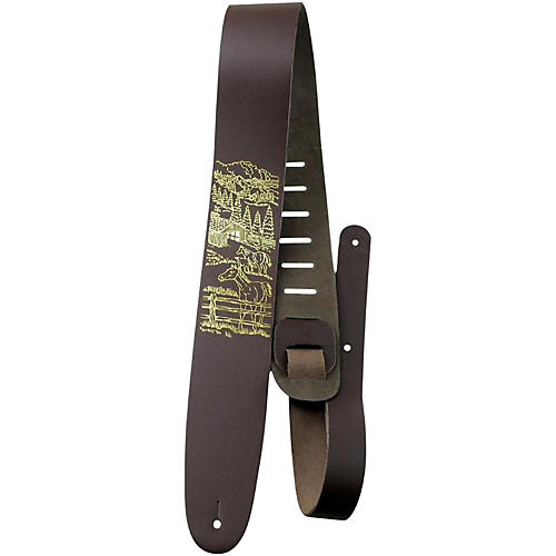 Perri's 2.5 In. Leather Guitar Strap