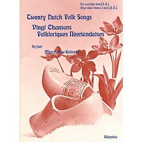 Waterloo 20 Dutch Folk Songs