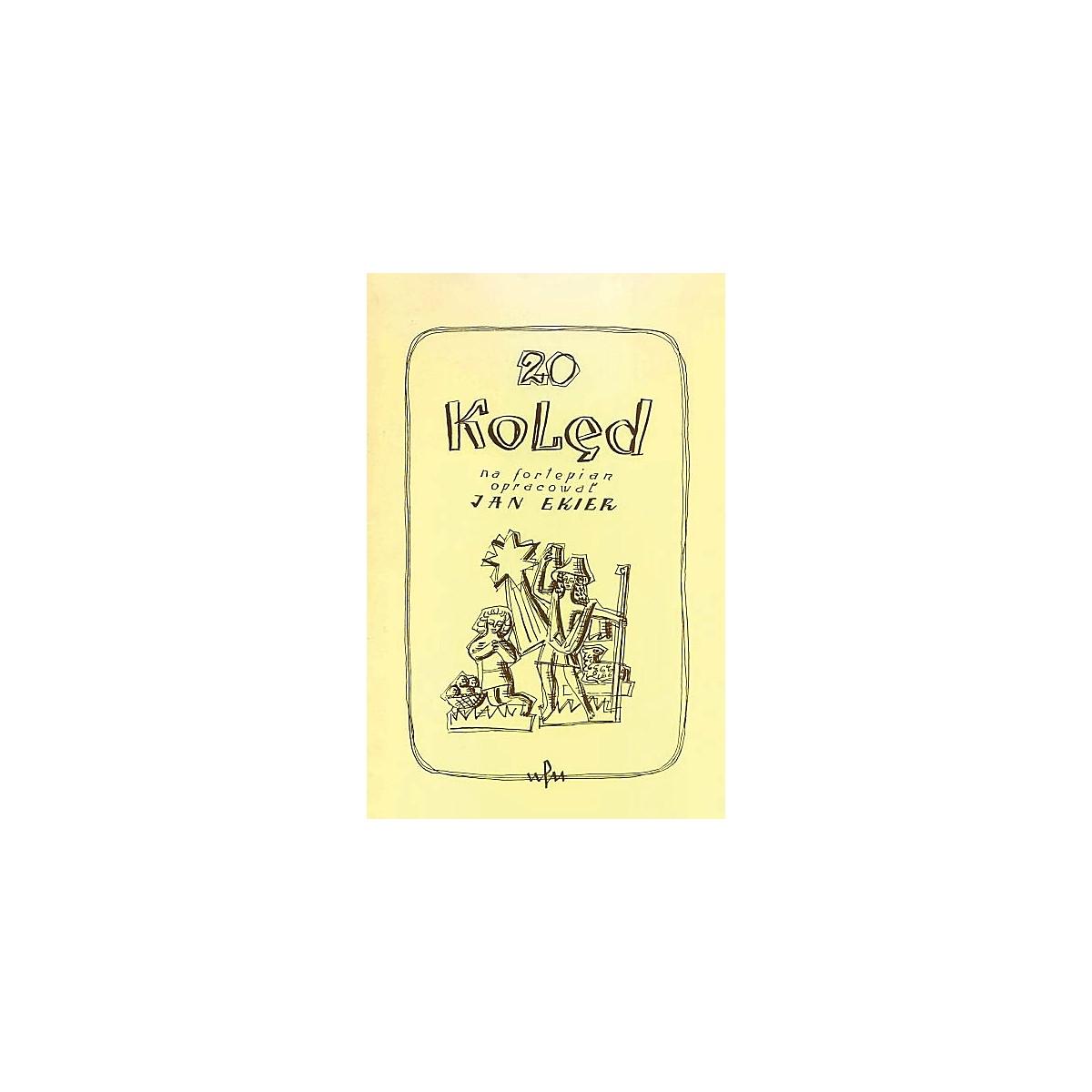 PWM 20 Koled na fortepian opracowar (Polish Language) PWM Series Softcover