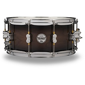 pdp by dw 20 ply maple walnut snare drum guitar center. Black Bedroom Furniture Sets. Home Design Ideas