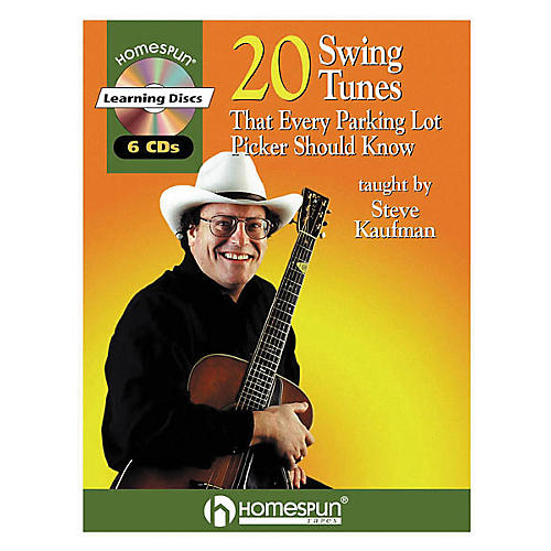 Homespun 20 Swing Tunes That Every Parking Lot Picker Should Know Guitar Book with CD