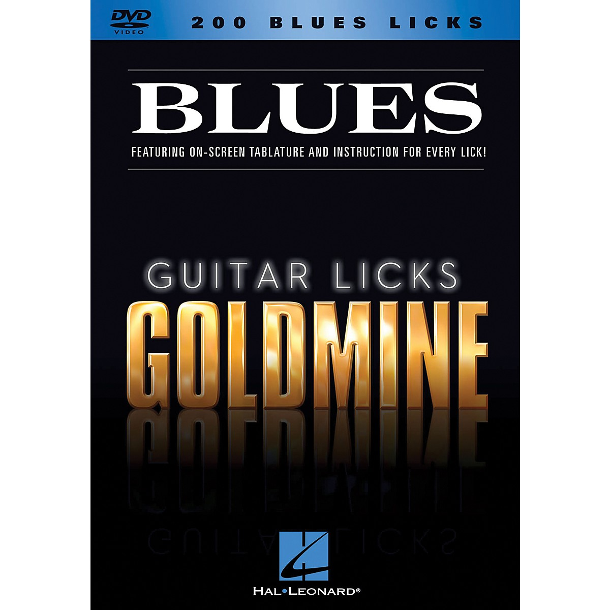 Hal Leonard 200 Blues Licks - Guitar Licks Goldmine DVD Series