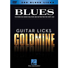 Hal Leonard 200 Blues Licks - Guitar Licks Goldmine DVD Series