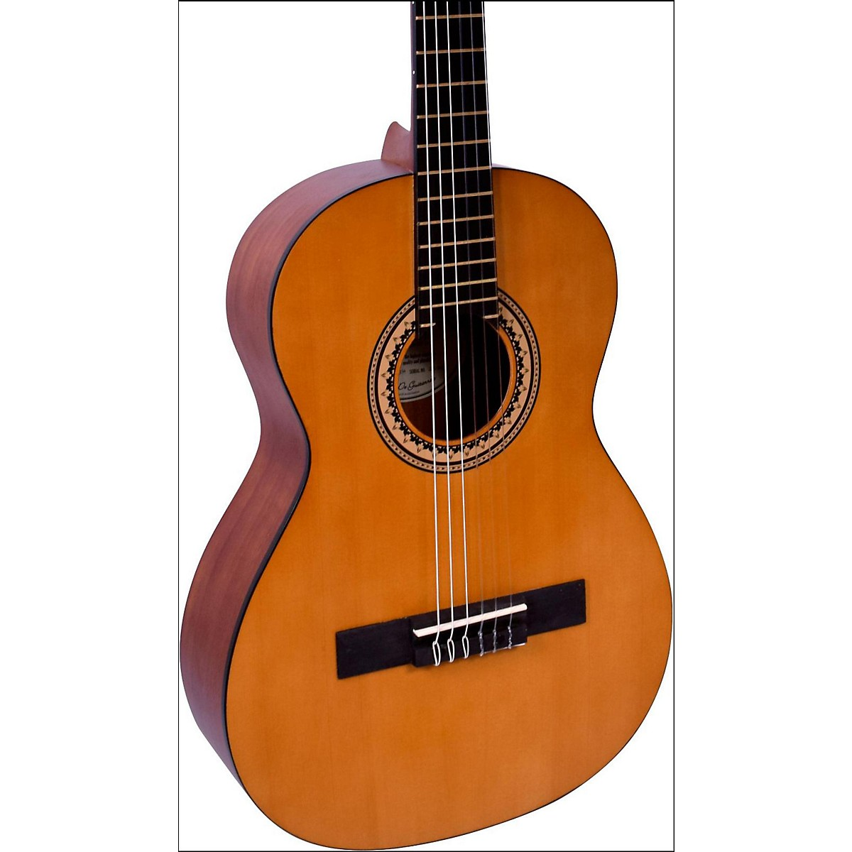 Valencia 200 Series 3/4 Size Hybrid Classical Acoustic Guitar