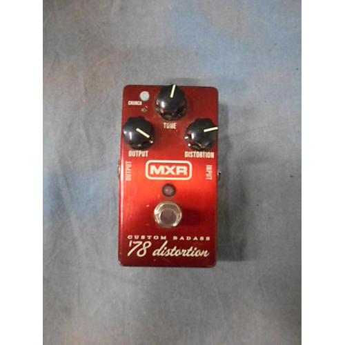 MXR 2000s M78 1978 Custom Badass Distortion Effect Pedal