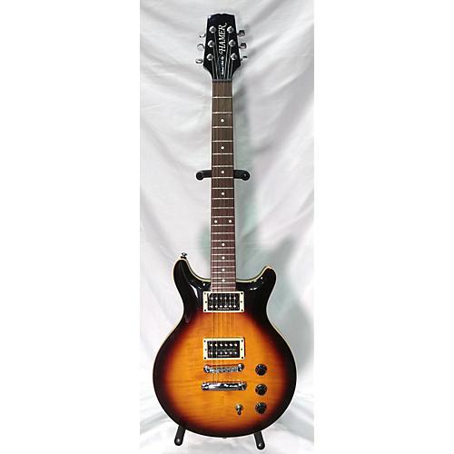Hamer 2000s SUNBURST ARCH TOP Solid Body Electric Guitar