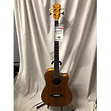 Fender 2000s VB-NAT KOA Acoustic Bass Guitar