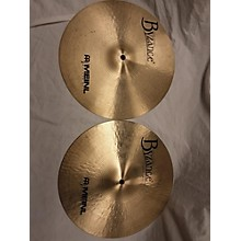Meinl 2001 13in ROLAND MEINL TRADITIONAL HH PAIR Cymbal