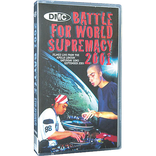 DMC 2001 Battle for World Supremacy VHS Video