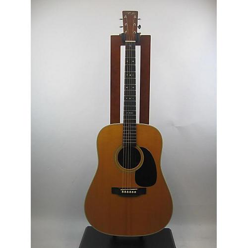 used martin 2001 custom d28 acoustic electric guitar vintage natural guitar center. Black Bedroom Furniture Sets. Home Design Ideas