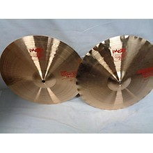 Paiste 2002 15in Sound Edge Hi Hats Cymbal