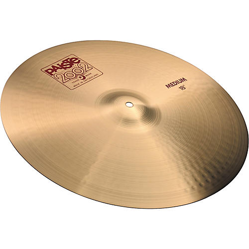 b75862f1ffb9 Paiste 2002 Medium Crash Cymbal 18 in.