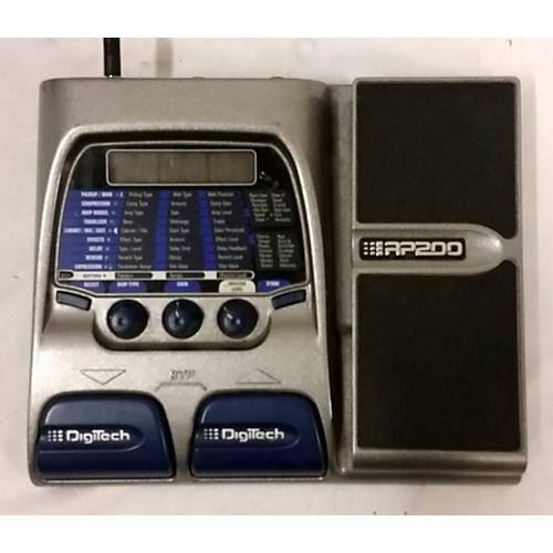 Digitech 2002 RP200A Effect Processor