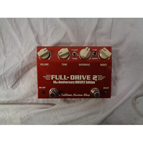 Fulltone 2003 FD2MOS Fulldrive 2 Mosfet Overdrive Effect Pedal