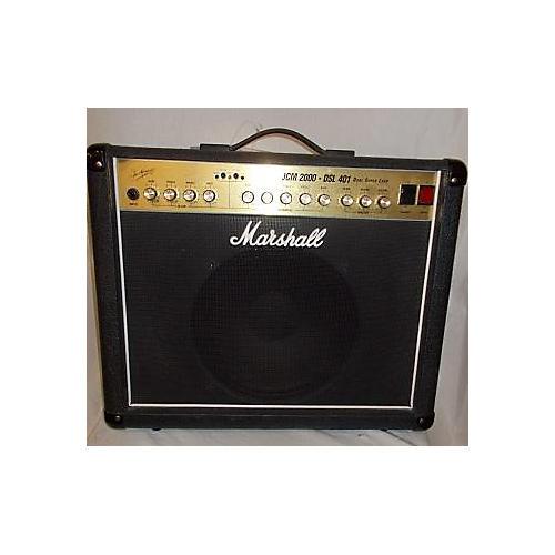 used marshall 2003 jcm 2000 dsl 401 tube guitar combo amp guitar center. Black Bedroom Furniture Sets. Home Design Ideas