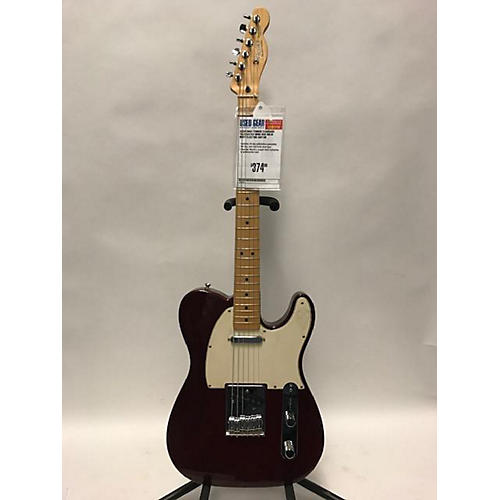 used fender 2003 standard telecaster solid body electric guitar wine red guitar center. Black Bedroom Furniture Sets. Home Design Ideas