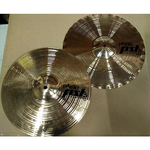 Paiste 2004 14in PST5 Hi Hat Pair Cymbal