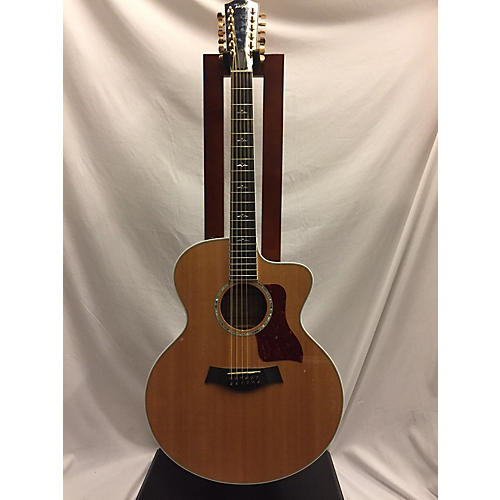 Taylor 2005 655CE 12 String Acoustic Electric Guitar