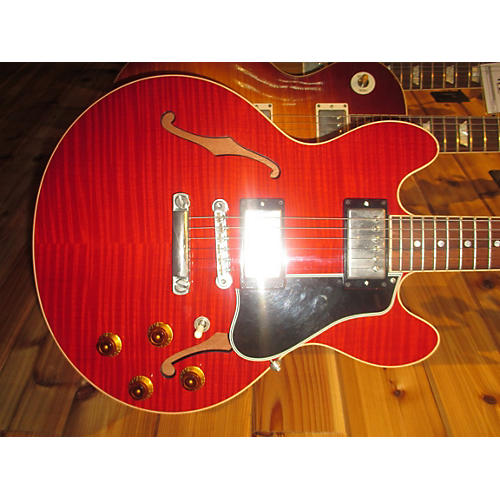 Gibson 2005 CS336 Figured Top Hollow Body Electric Guitar
