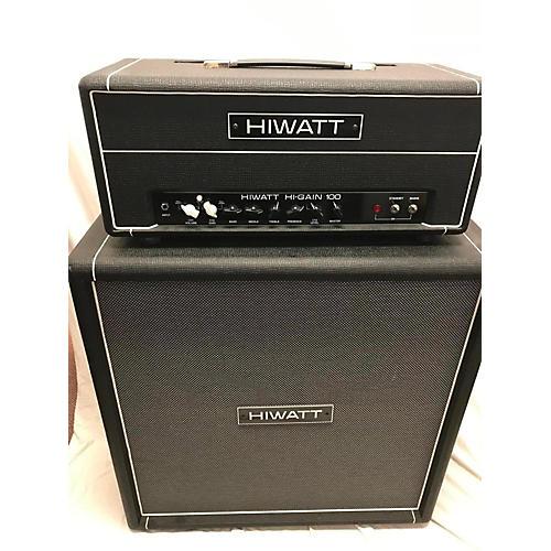 Hiwatt 2005 Hi-Gain 100 Head And Se412cab Guitar Stack