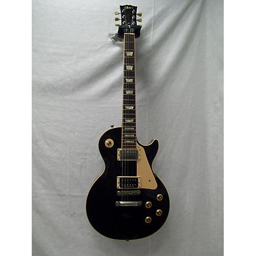 used gibson 2005 les paul standard 1950s neck solid body electric guitar black guitar center. Black Bedroom Furniture Sets. Home Design Ideas