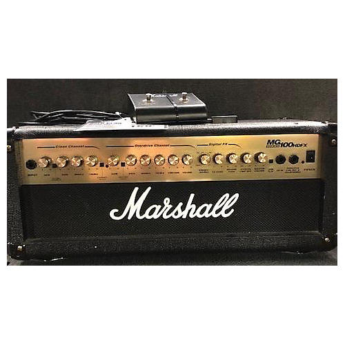 used marshall 2006 mg100hdfx 100w solid state guitar amp head guitar center. Black Bedroom Furniture Sets. Home Design Ideas