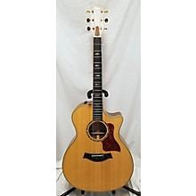 Taylor 2007 814CE FALL LTD Acoustic Electric Guitar