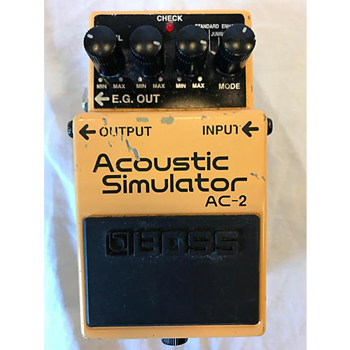 Boss 2007 AC2 Acoustic Simulator Effect Pedal